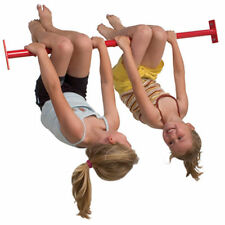 Barra ginnica in metallo L=1250 mm per bambini certificato tuv, per parco giochi