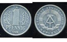 ALLEMAGNE  DDR  1 pfennig 1985  ( bis )