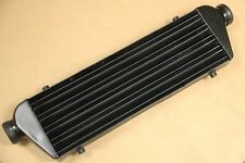 Universal 27'' x 7'' x2.5'' FMIC Aluminum Front Mount Intercooler Polished 2.5''