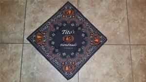 Tito's Handmade Vodka Bandanna (Black) NEW!!!