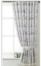 Baby Disney Winnie The Pooh Nursery Blackout Curtains Tape Top Tie Backs NEW