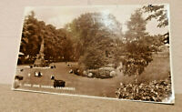 Dane John Gardens Canterbury Kent - Real photo postcard - Romney series