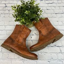Frye Tan Ankle Boots Size 7