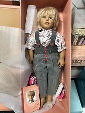 Annette Himstedt Puppe Kasimir 75 cm. Top Zustand