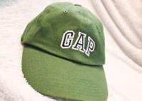 Vintage Gap Strapback Hat (green/navy) {Yeezy}
