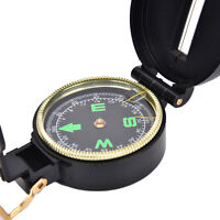 Metal Lensatic Compass Military Camping Hiking Style Survival Marching OS