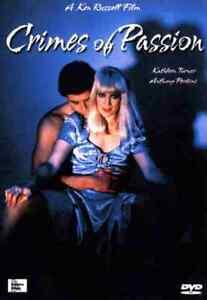 Crimes of Passion - 1984 Horror Drama - Kathleen Turner, Anthony Perkins - DVD