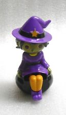 New Sealed Solar Powered Dancing Witch on Cauldron Halloween Decoration/Toy