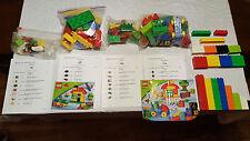 LEGO Duplo LOT Complete sets 5646, 5506, 4962, 5497  + 72 Pieces Animals Farm