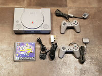 Refurbished Sony Playstation 1 PS1 SCPH-1002 Console, Controllers & Game Bundle