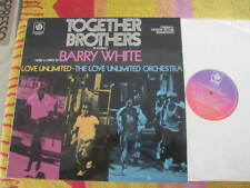 "TOGETHER BROTHERS BARRY WHITE RECORD VINYL LP 12"" SOUNDTRACK"