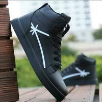 Men's High Top Athletic Sneakers Sports Shoes Outdoor Running Shoes Casual shoes