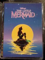DISNEY LITTLE MERMAID TRADING CARDS SET with COLORING INSERT SET