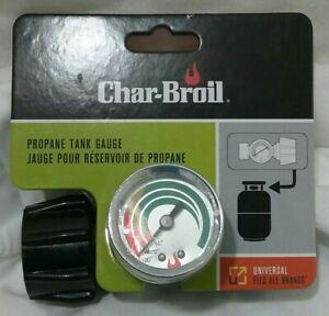 NEW!!  Char-Broil Universal Propane Tank Gauge Black