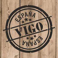 Vinilo de Corte Vigo Pegatina Vigo España 10 cm Adhesivo Pared Tablet Coche