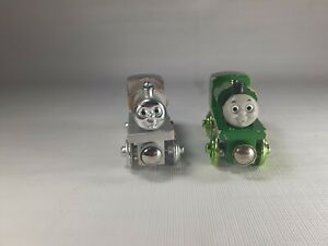 Thomas & Friends Wooden Railway PERCY & DIESEL 60th YEAR EDITION Train Lot 🚂