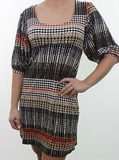 Viscose Empire line Spotted Dresses for Women