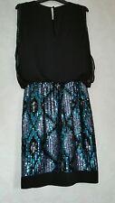 Warehouse Party Dress Size 8 Black