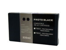 InkOwl 220ml PHOTO BLACK Compatible Cartridge for EPSON Stylus Pro 7800 9800