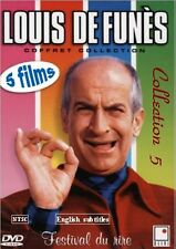 Louis De Funes. 5 movies Collection 5. Optional english subtitles Louis de Funes