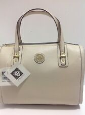 New Anne Klein Natural Front Runner Duffle  Crossbody Shoulder Bag Purse R$89
