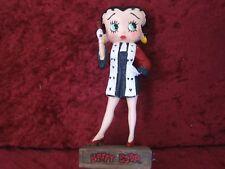 """Figurine Betty Boop Résine """"Juge"""" Hauteur 13 cm Neuf Emballé"""