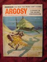"""ARGOSY November 1955 Nov 55 Doris Fesette """"Prince Henry Vauxhall"""" Jack Schaefer"""