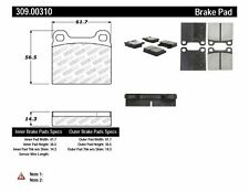 Disc Brake Pad Set-FWD Rear,Front Stoptech 309.00310