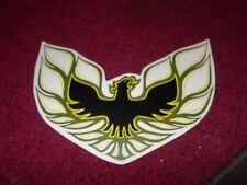 1976 PONTIAC FIREBIRD TRANS-AM SAIL PANEL OR DECKLID BIRD DECAL TRANSFER GREEN
