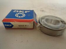 NEW   SKF 6205-RS1 SINGLE ROW  BALL BEARING