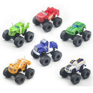 Blaze and the Monster Machines Vehicles Cars 6pcs/set Action Figure Kids Toy