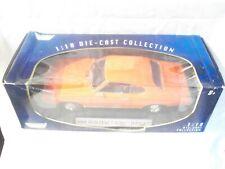 1:18 Diecast Car ~ Motor Max ~ 1969 Pontiac GTO Judge ~ Orange