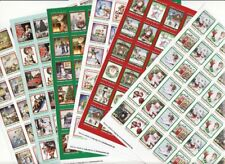 2017 U.S. Christmas Seals Test Designs Sheet Collection