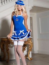 Ann Summers Sailor Girl Sexy fancy dress up Hen Halloween costume size 12