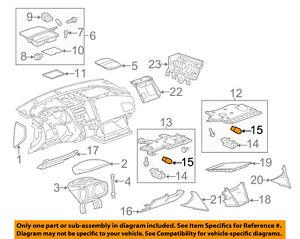 GM OEM Instrument Panel Dash-Bulb 13500832