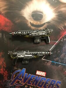 Hot Toys Marvel Avengers Endgame MMS548 Rocket 1/6 PART Two blasters