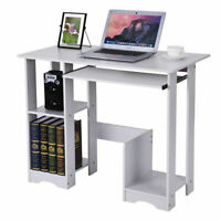 Wood Computer Desk PC Laptop Writiting Table Workstation Home Office Study