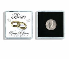 Lucky Sixpence Bride Wedding Keepsake In Display Case W1
