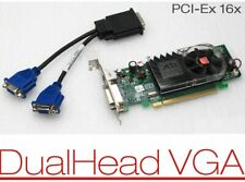 Dell OptiPlex 760 780 790 DT SFF PCIe Low-Profile DMS-59 Dual VGA Video Card