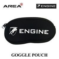 Engine Goggle Pouch Black, Goggle Case, Swimming Goggle Case