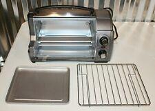 Hamilton Beach Toaster Oven 4-Slice Silver