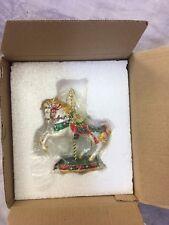 Danbury Mint Carnival Carousel Horse Christmas Ornament MINT