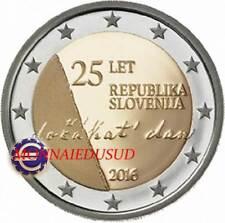 2 Euro Commémorative Slovénie 2016 - 25ème Anniversaire Indépendance
