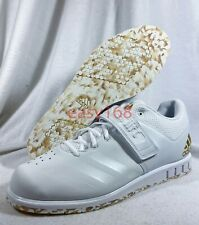 New Adidas Powerlift 3.1 Weightlifting Shoes Sz 12 AC7467 Men's Training White