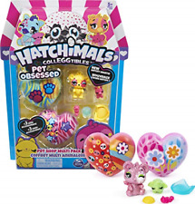 Hatchimals CollEGGtibles, Pet Obsessed Pet Shop Multi-Pack with 3 CollEGGtibles,