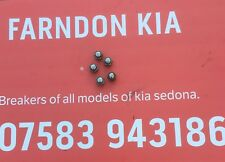 Kia Sedona 2002 to 2012 CHROME ALLOY WHEEL BOLTS X 5.