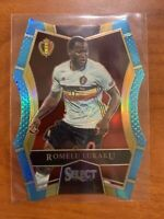 2016-17 Select Soccer Romelu Lukaku Light Blue Die Cut Mezzaine #114 Inter Milan