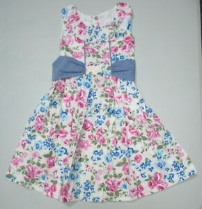 Kelly's Kids Country Cottage Betsy Dress Isabella Floral Size 5-6 Regular NEW
