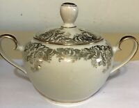 Hutschenreuther Sugar bowl with lid Bavaria Germany