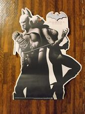 Batman Arkham City Video Game Promotional Poster and Window Cling DC Cat Woman